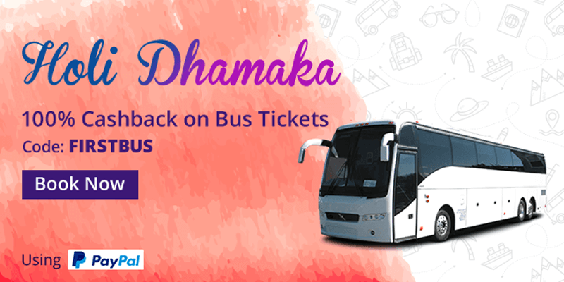 bus ticket booking