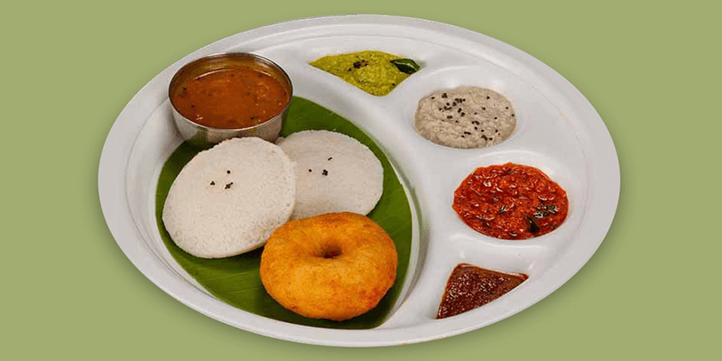 south indian food on train
