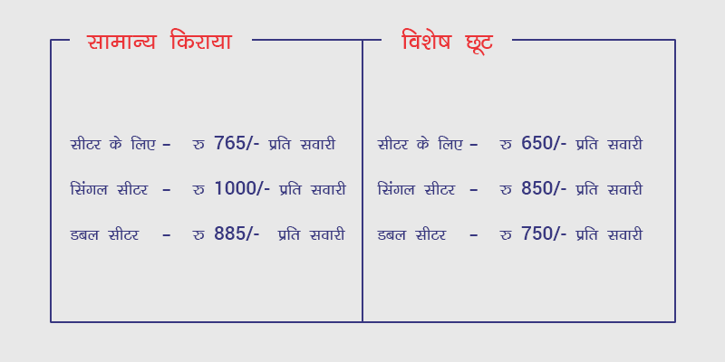 Railyatri Bus Fare
