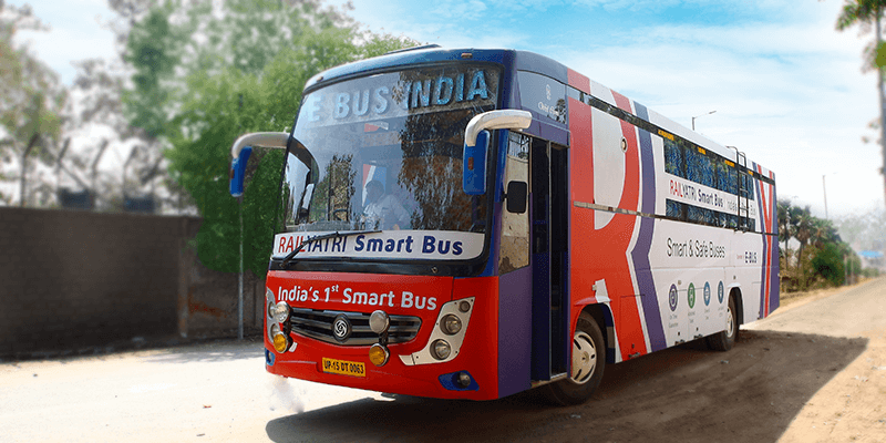 RailYatri Smart Buses