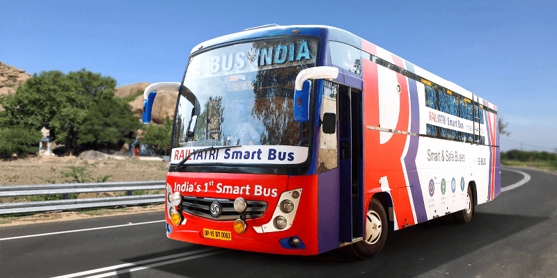 RailYatri Smart Bus