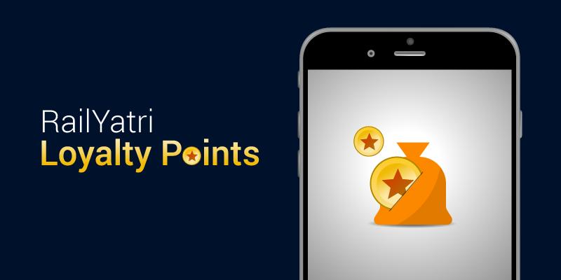 RailYatri Loyalty points