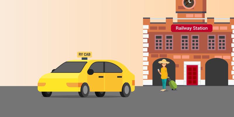 RailYatri cab services