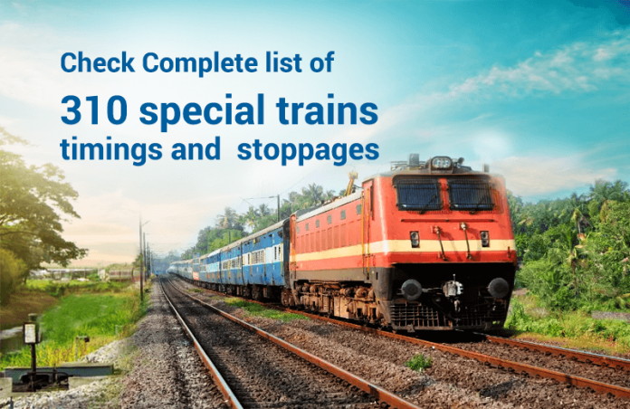 IRCTC special trains
